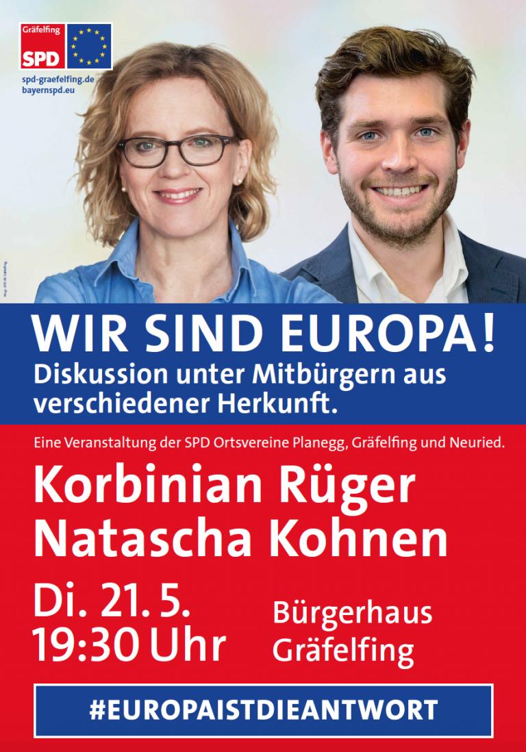 VA Kohnen-Rueger 21.05. in Gräfelfing