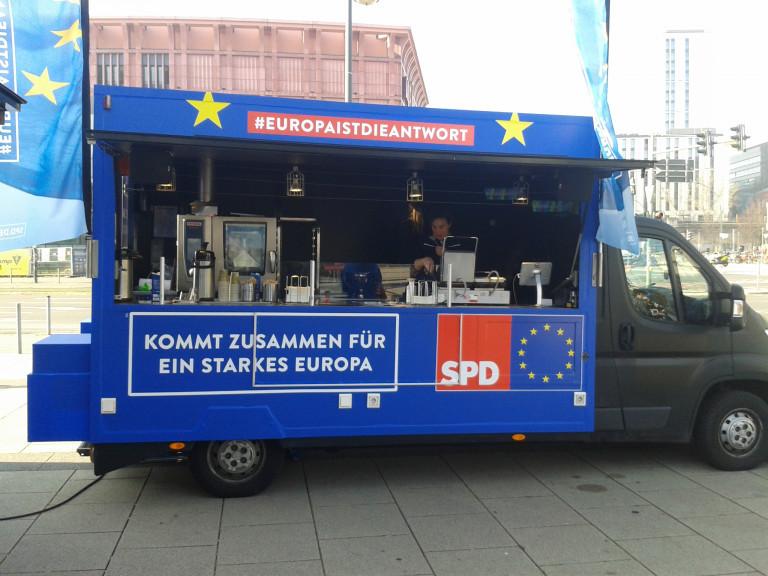 SPD Europa Info Truck